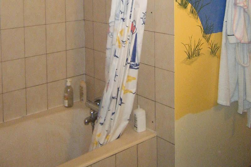 salles de bains avant