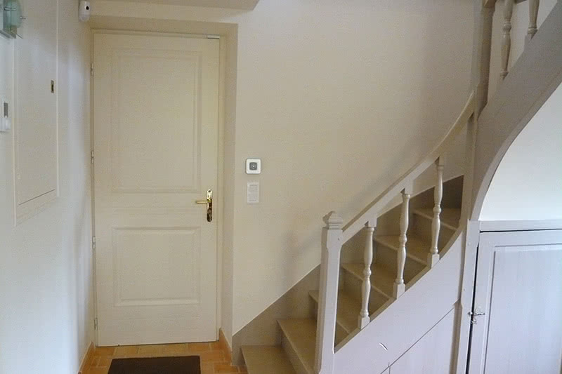 escaliers avant